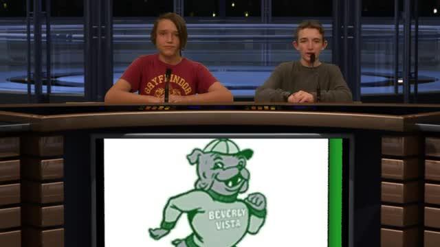 Beverly Vista 8th Grade News Report