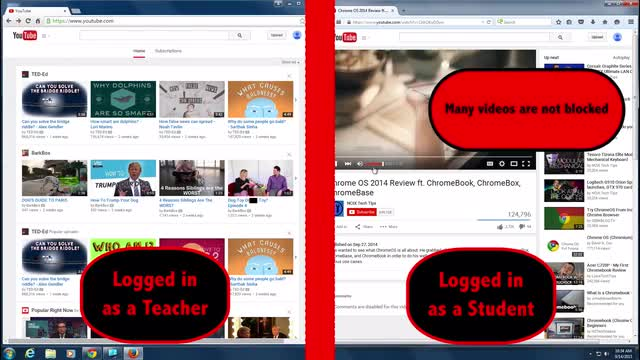 Brief video to learn how to approve Youtube videos for your students to watch.