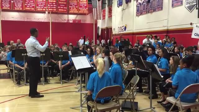 Cadet Band at Mass Band