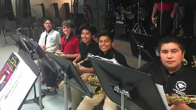 DMS Jazz Band Performance