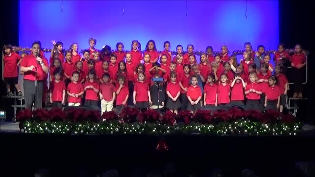 K and 1st Holiday Concert 12/13/2016
