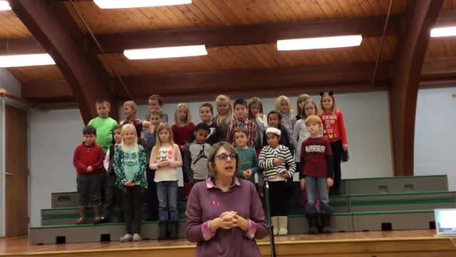 Recording of Narragansett Elementary School holiday concert