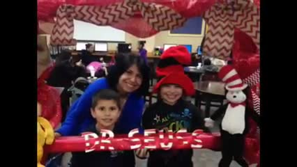 DR. Seuss Cake contest & family night