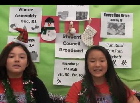 December Student Broadcast