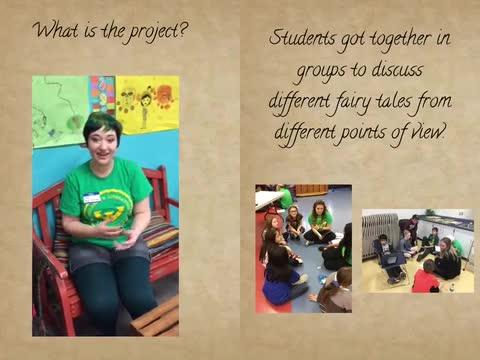 Wayne State character study with Barnard students