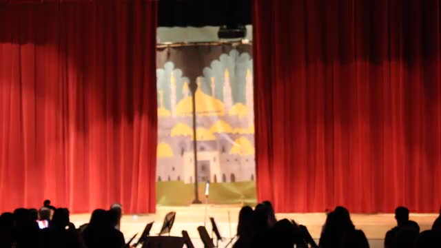 A Marriage Proposal at Johnson Middle School's Production of Aladdin