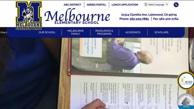 Navigating our School Website