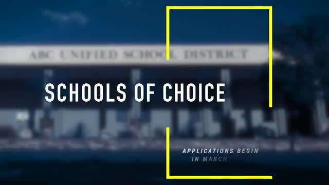 ABC Unified School District Schools of Choice SOC 2020-2021