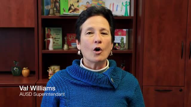 Superintendent Video Message on AUSD as A Safe Haven District February 2017