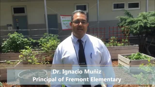 Dr. Ignacio Muniz explaining more about the Fremont Dual Immersion Program