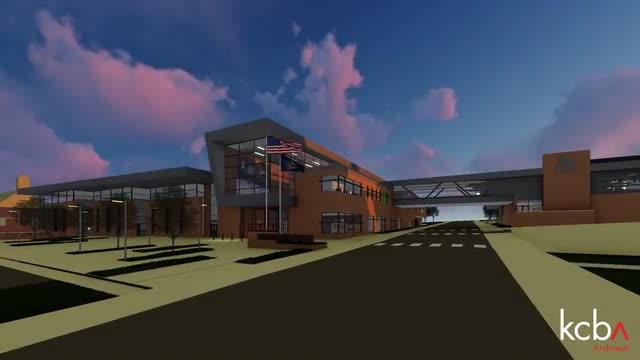 Schematic design for the proposed Altoona Area High School renovation