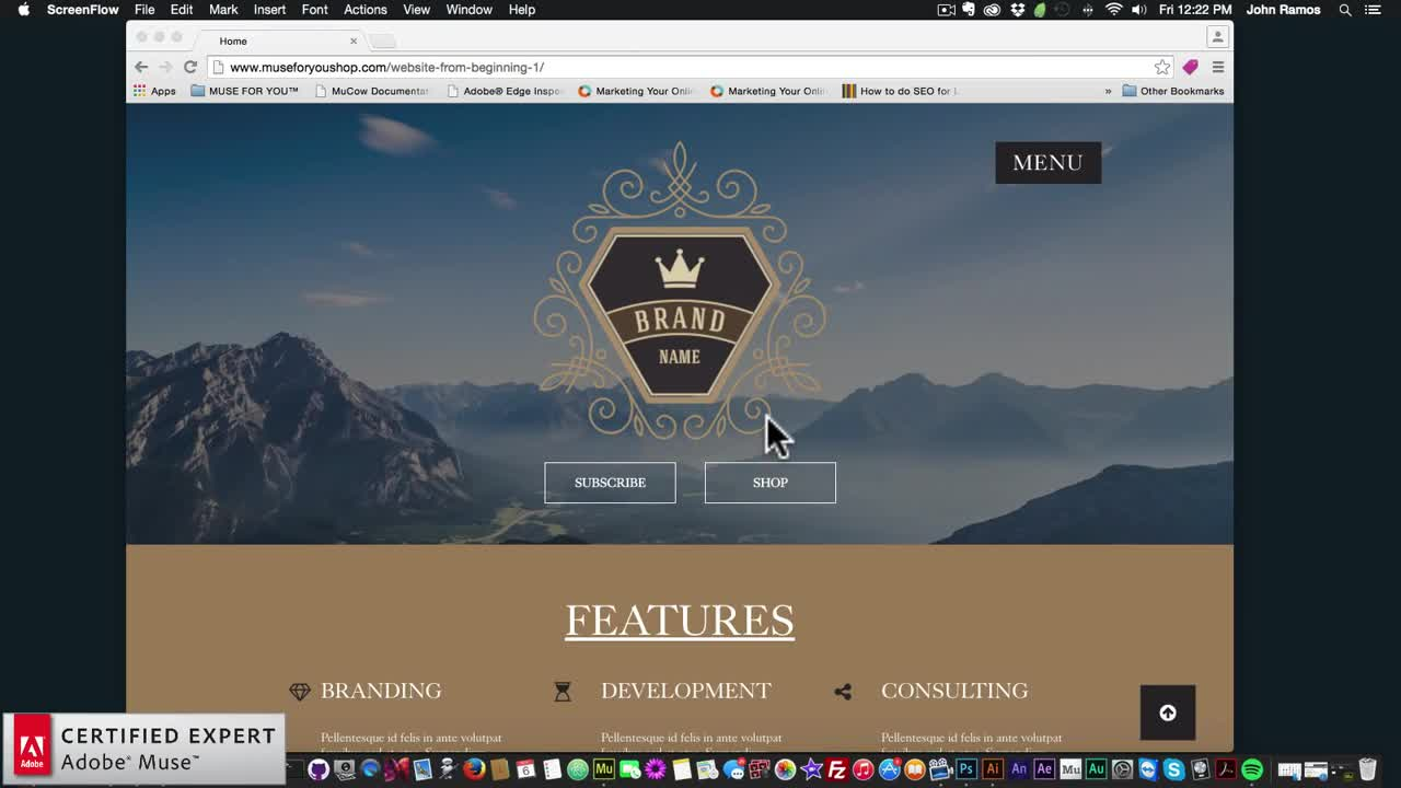Building a website from scratch adobe muse cc tutorial muse for building a website from scratch adobe muse cc tutorial muse for you alvarado high school baditri Choice Image
