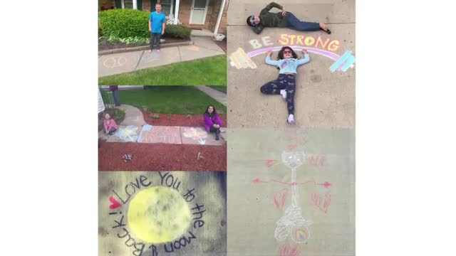 Sidewalk chalk competition winners announced