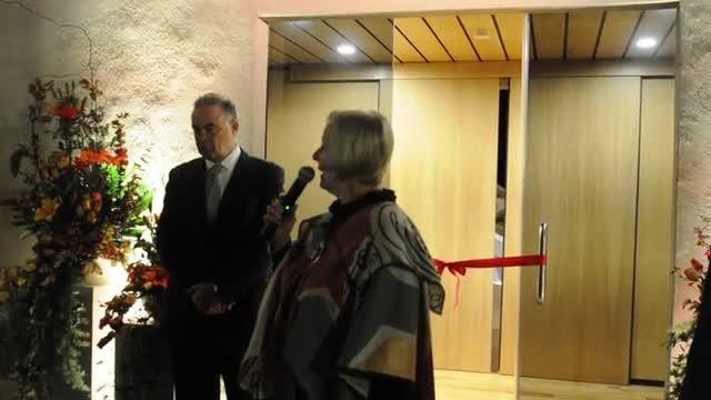 Inauguración del Anglo Arts Centre. Discurso de Susan Chapman