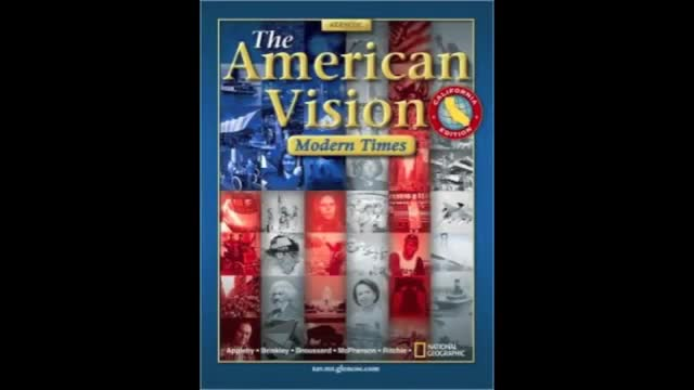 American Vision Chapter 1 A Nation Is Born City Of