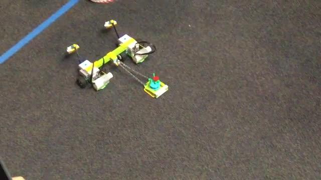 Intro. to Robotics- Collaborating Milos Rovers