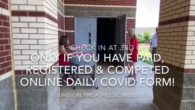 Conditioning/Skills at High School - Arrival