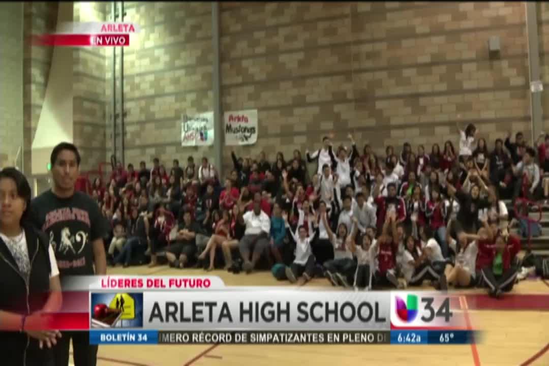 Univision 34 C Arleta High School
