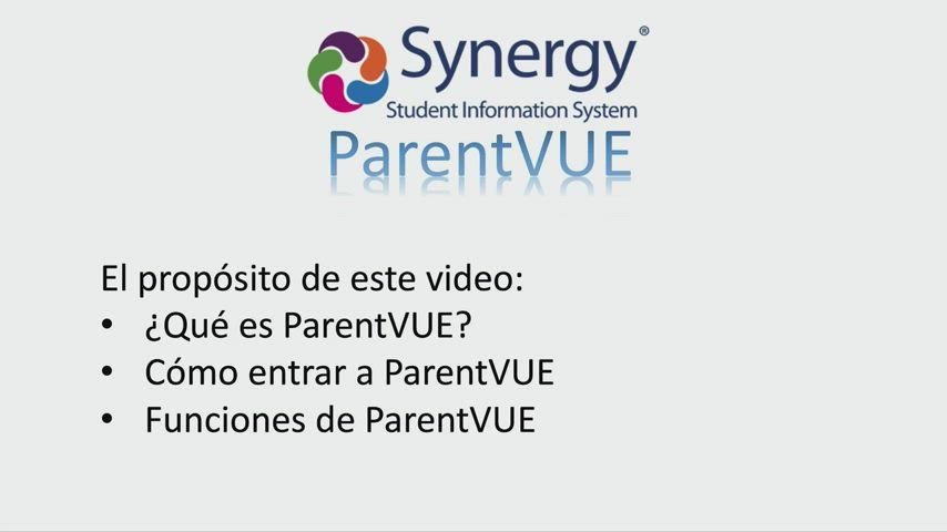 Video - ParentVUE