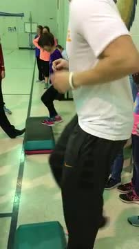 Exercising with Mrs. Hyde