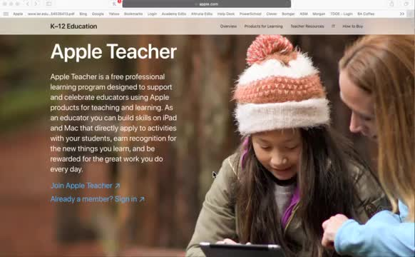 How to become an Apple Teacher