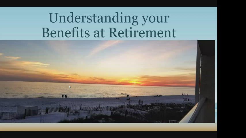 Retirement Informational meeting - 03-09-2021