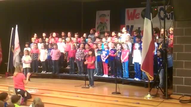 Reveille tune - Emile Elementary Veterans' Day program