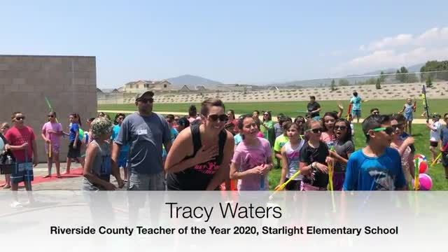 Tracy Waters Named 2020 Riverside County of the Year