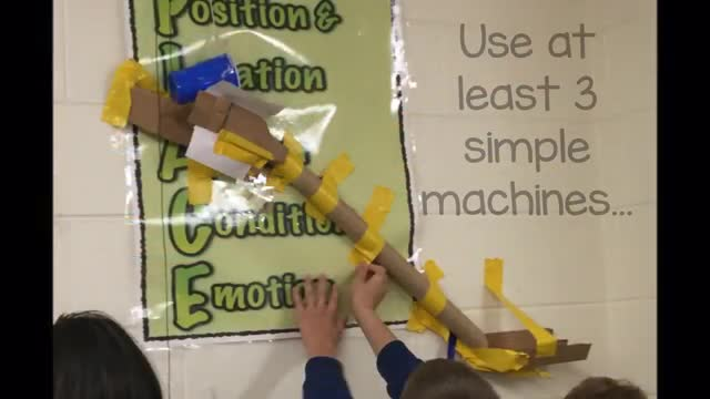 1st Trimester Rube Goldberg Projects