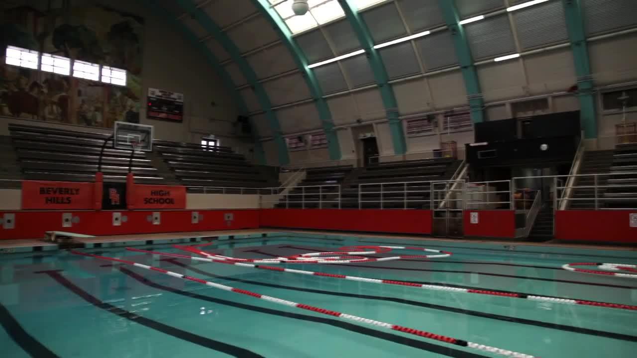 Beverly Hills High School Swim Gym
