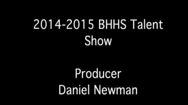 Talent Show 2014