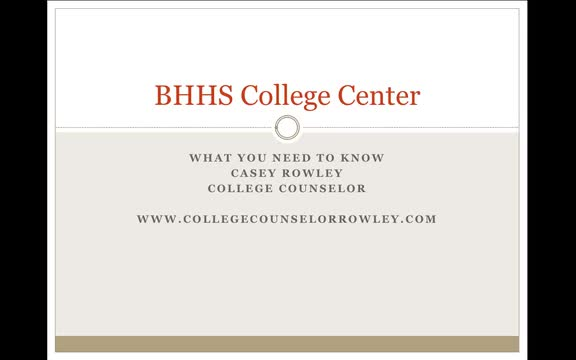 BHHS College Center