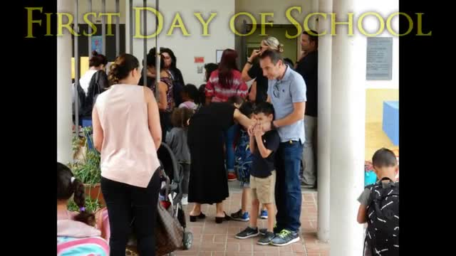 Back to school video: Welcome back from NBC's Today in LA, followed by pictures set to music of students returning to school at Hawthorne School, Beverly Vista School, Horace Mann School, El Rodeo School, and Beverly Hills High School. Also features Opening Day welcome back event for BHUSD teachers.