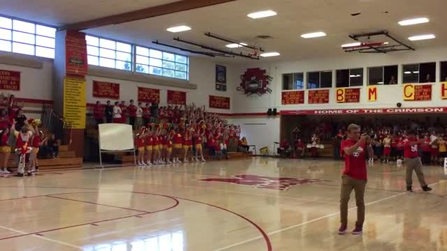 October 2016 Pep Rally
