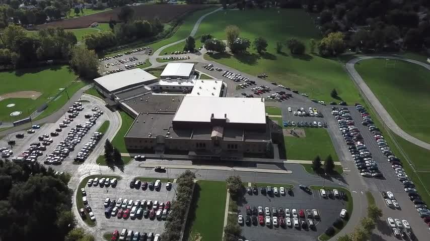 Drone Footage of the South Campus