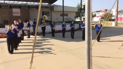 HS Band at State Fair