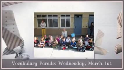 Video of March Activities 2017