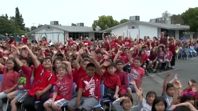 Emery Elementary School Red Ribbon Award Ceremony 2017