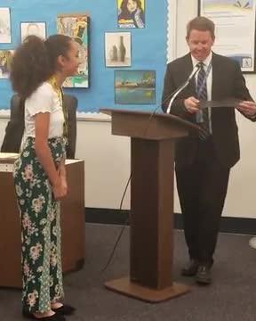 Buena Park Junior High Award Winners