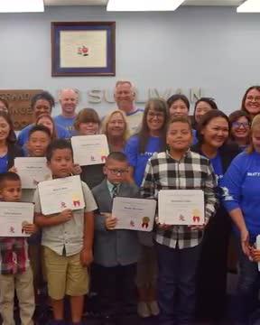Beatty School Award Winners