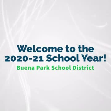 Welcome to the 2020-21 School Year!