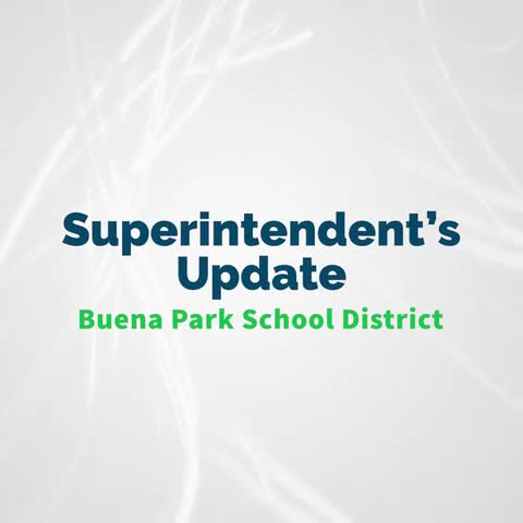 Superintendent's Update September