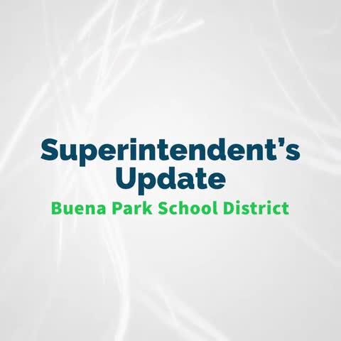Superintendent's Update September