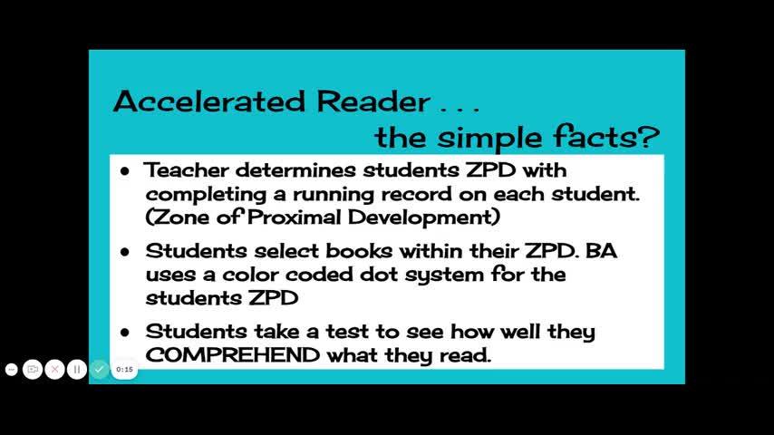 Understanding Accelerated Reader