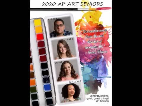 Advanced Placement Virtual Art Slideshow 2020