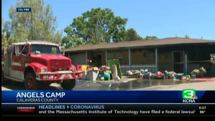 KCRA 3 news story on burnt preschool