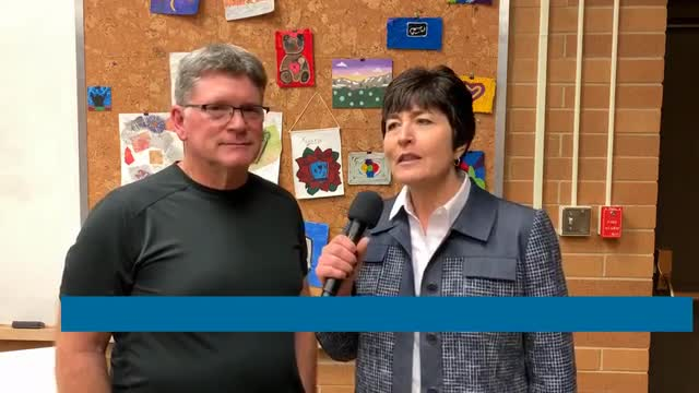 video middle school art show