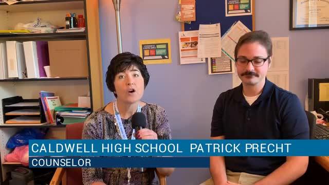 video of high school leaders
