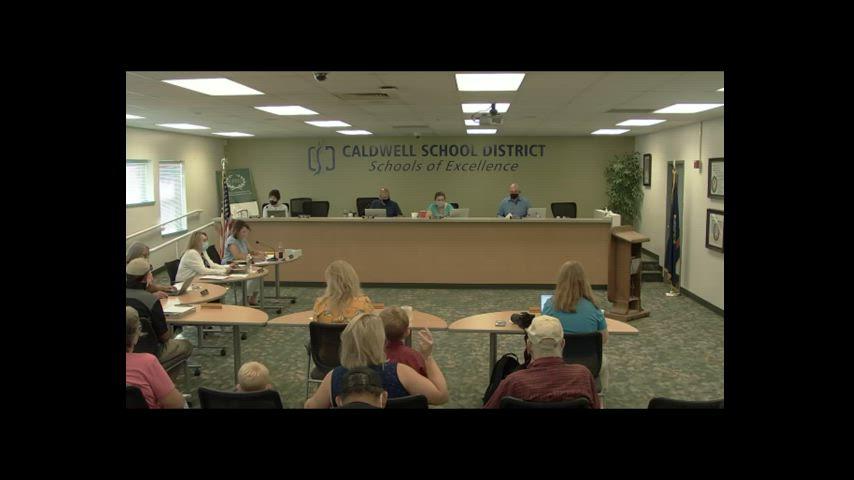 Regular Board Meeting 6/15/21