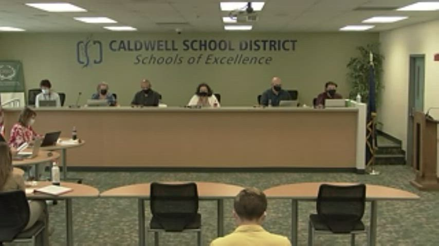 Special Board Meeting 08-26-21